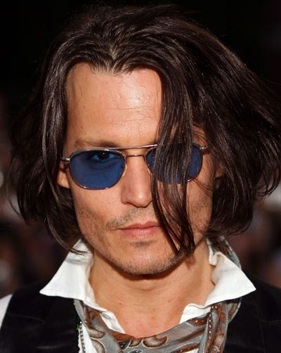 Johnny Depp in sunglasses