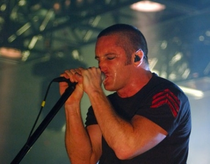 Trent Reznor in 2006 looking buff