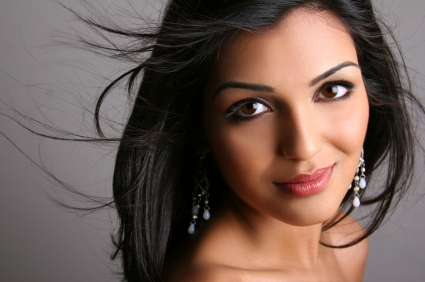 Beautiful East Indian Woman