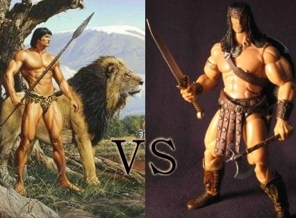 tarzan versus conan