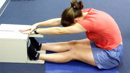test of hamstring flexibility