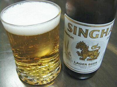 singha beer thailand