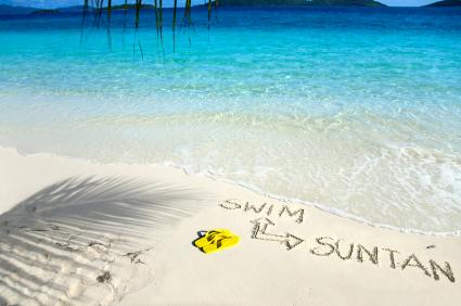 carribean beach vacation