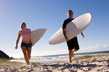 surfing dad