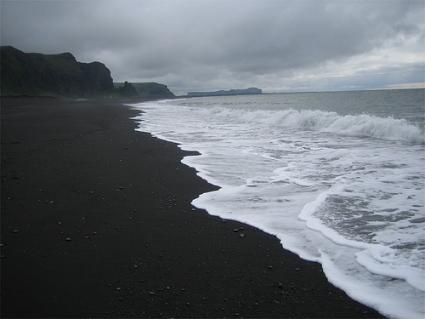 vik beach Iceland
